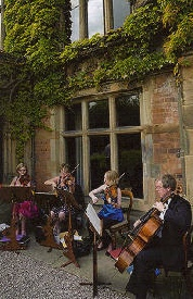 Spring Quartet family String Quartet at Soughton Hall