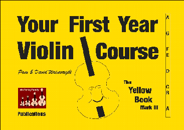the Yellow Book Mk III Beginner Violin Tutor