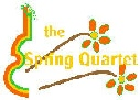 the Spring Quartet String Quartet logo